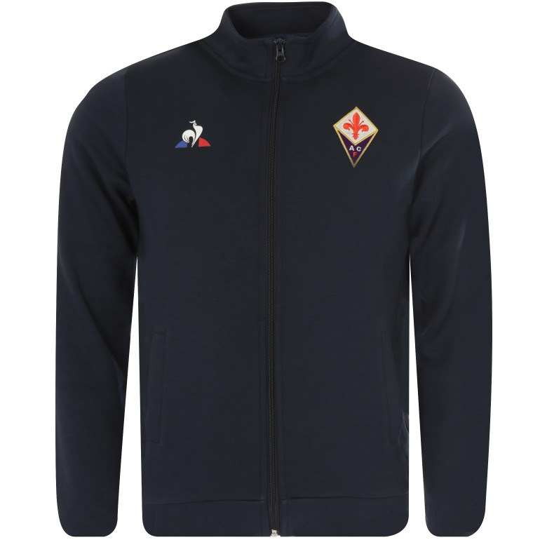 Sweat zippé Fiorentina noir 2017/18