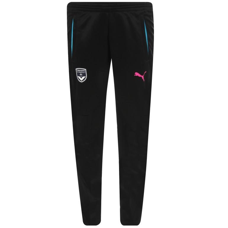 Pantalon survêtement junior Bordeaux noir 2016/17