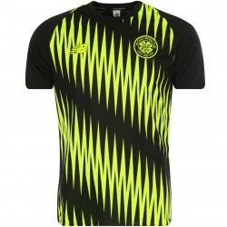 Maillot entraînement Celtic Glasgow noir jaune 2018/19