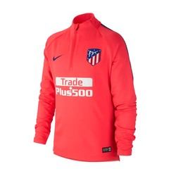 Sweat zippé junior Atlético Madrid rouge 2018/19