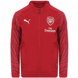 Veste entraînement junior Arsenal rouge 2018/19