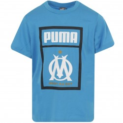 T-shirt junior OM Fan Puma bleu 2018/19