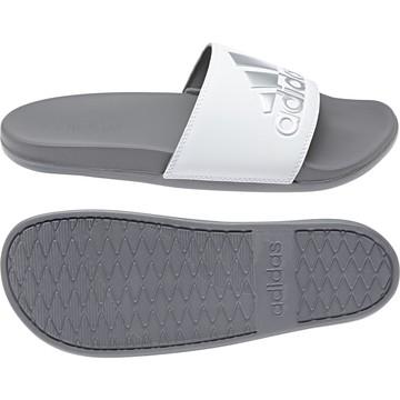 Sandales ADILETTE COMFORT blanc gris 2018/19