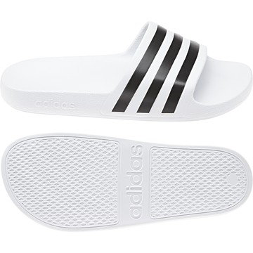 Sandales ADILETTE AQUA blanc