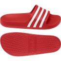 Sandales ADILETTE AQUA rouge