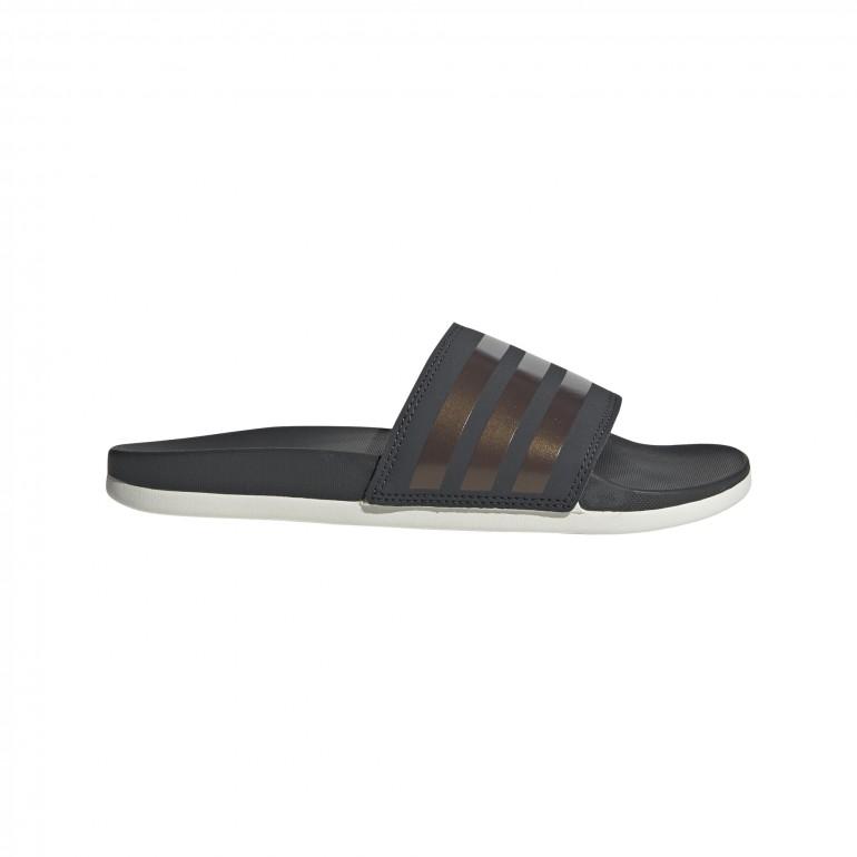 Sandales ADILETTE Comfort noir gris