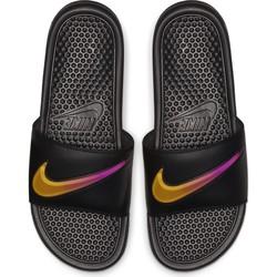 Sandales Nike Benassi noir orange 2018/19