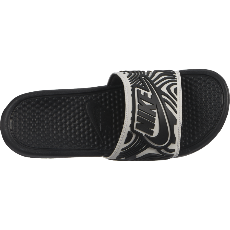Sandales Nike Benassi graphic blanc noir 2018/19