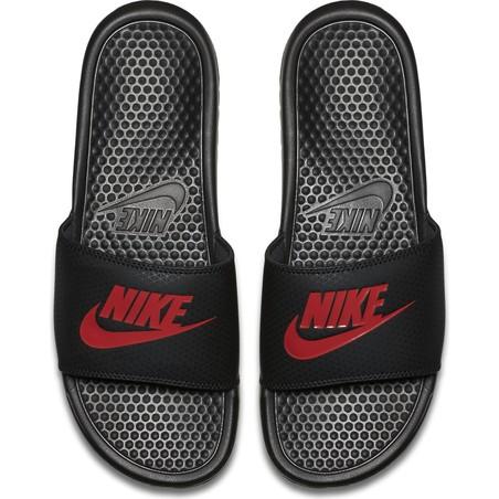 Sandales Nike noir rouge 2018/19