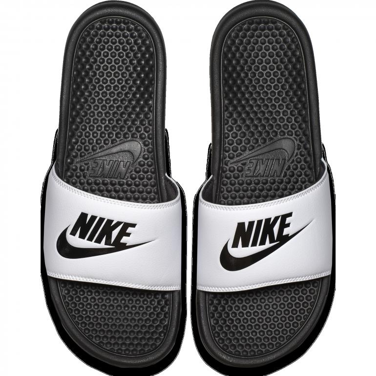 separation shoes 20d9c 21377 Sandales Nike noir blanc 2018 19