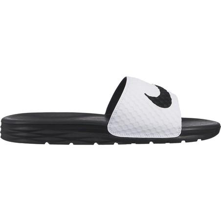 Sandales Nike Benassi Slide blanc 2018/19