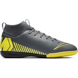 Mercurial SuperflyX VI junior Academy Indoor gris jaune