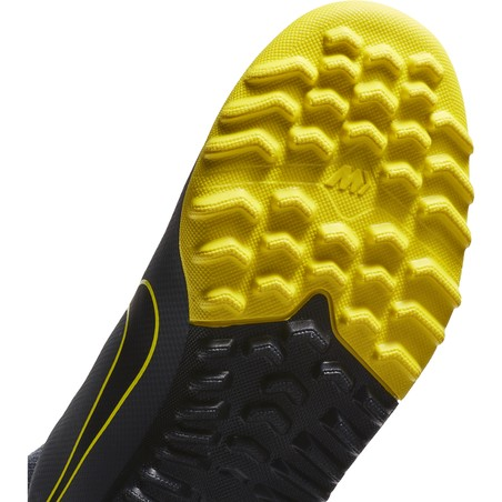 Mercurial SuperflyX VI junior Academy Turf gris jaune