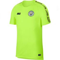 Maillot entraînement Manchester City jaune 2018/19