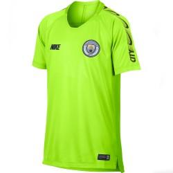 Maillot entraînement junior Manchester City jaune 2018/19