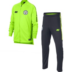 Ensemble survêtement junior Manchester City jaune 2018 19 dcbac8a89c7