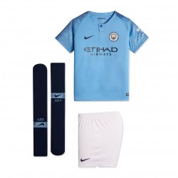 Tenue enfant Manchester City domicile 2018/19