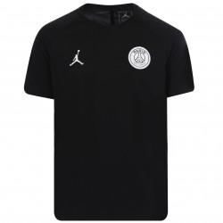 Maillot entraînement junior PSG Jordan logo noir 2018/19
