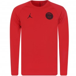 Sweat PSG Jordan Squad rouge 2018/19