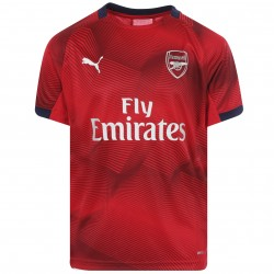 Maillot entraînement junior Arsenal graphic rouge 2018/19