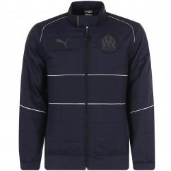 Manteau OM bleu foncé 2018/19
