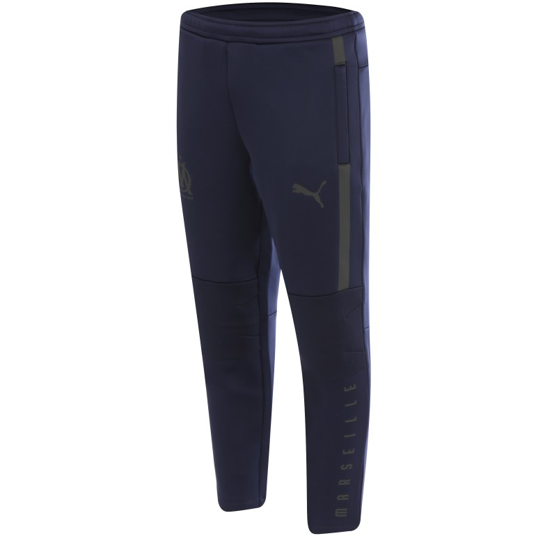 Pantalon entraînement OM pro bleu foncé 201819