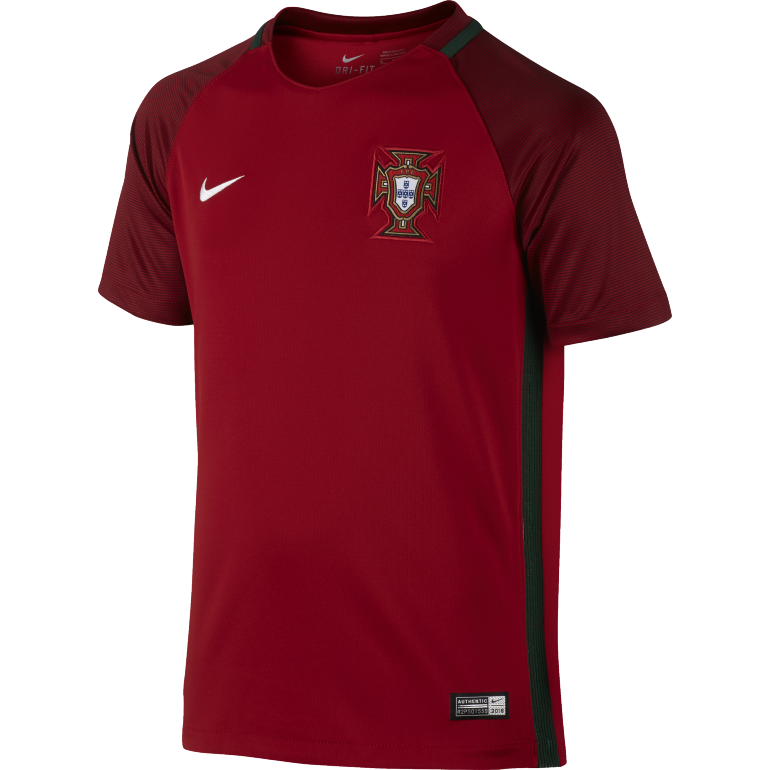 Maillot domicile junior Portugal 2016 - 2017