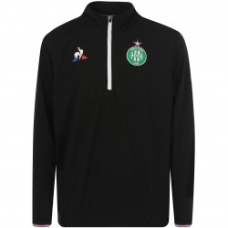 Sweat zippé junior ASSE noir 2017/18