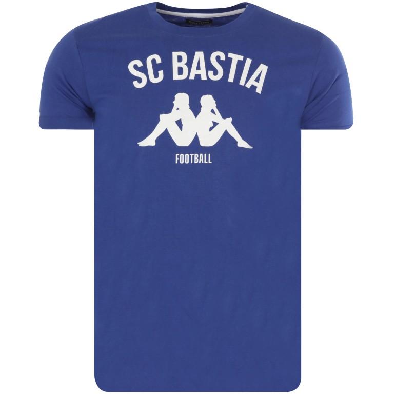 T-shirt Bastia bleu 2016/17