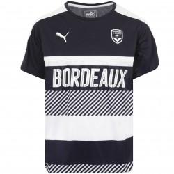 Maillot entraînement junior Bordeaux bleu et blanc 2016 - 2017