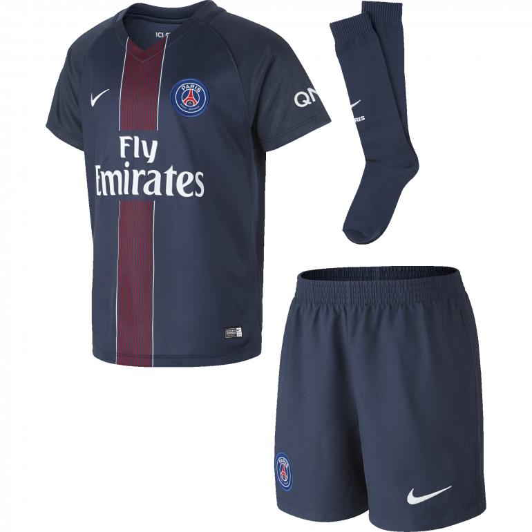 Kit junior domicile PSG 2016 - 2017