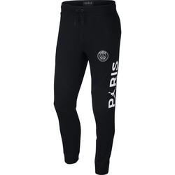 Pantalon survêtement PSG Jordan molleton noir 2018/19