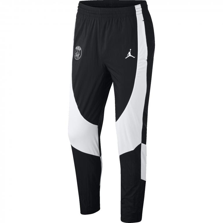 outlet factory outlet detailed look Pantalon survêtement PSG Jordan microfibre noir 2018/19