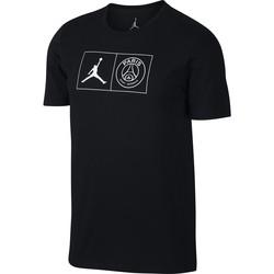 T-shirt PSG Jordan noir 2018/19