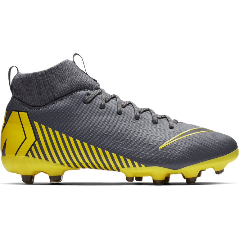 Mercurial Superfly VI junior Academy MG gris jaune