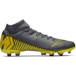 Mercurial Superfly VI Academy MG gris jaune