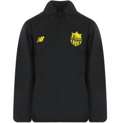 Sweat zippé junior FC Nantes noir 2018/19