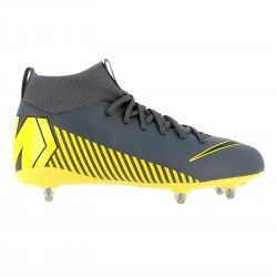 Mercurial Superfly VI junior Academy SG-Pro gris jaune