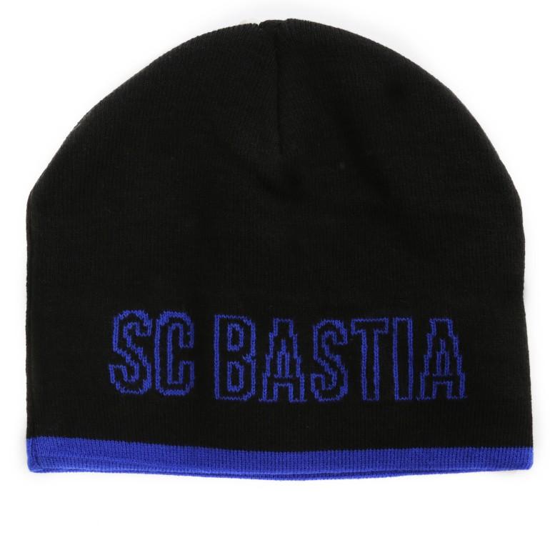 Bonnet Bastia noir bleu 2016/17