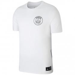 T-shirt PSG Jordan Streetwear blanc 2018/19