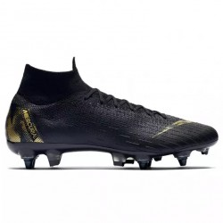 Mercurial Superfly VI Elite Anti-Clog SG-Pro noir or