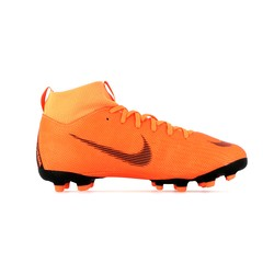Mercurial Superfly VI junior Academy montantes FG/MG orange
