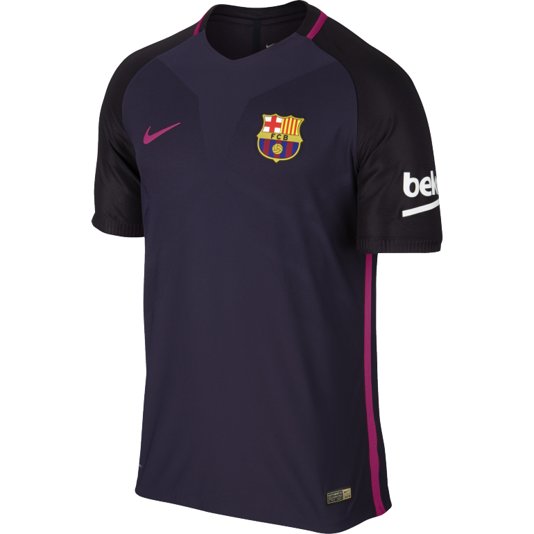 Maillot authentique fc barcelone ext rieur 2016 2017 sur for Fc barcelone maillot exterieur