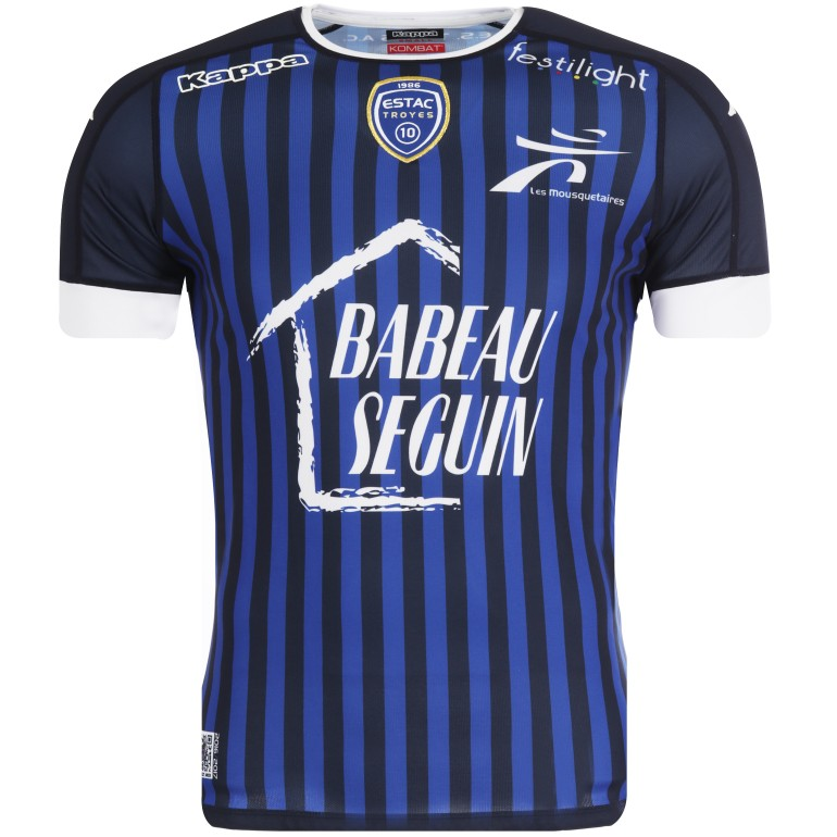 Maillot Troyes domicile 2016/17
