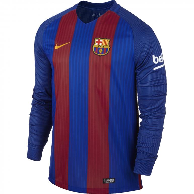 Maillot manches longues domicile FC Barcelone 2016 - 2017