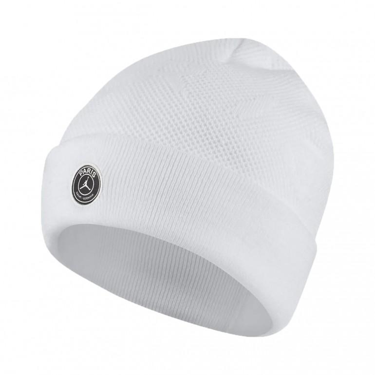 économiser jusqu'à 60% vente limitée énorme inventaire Bonnet PSG Jordan blanc 2019/20