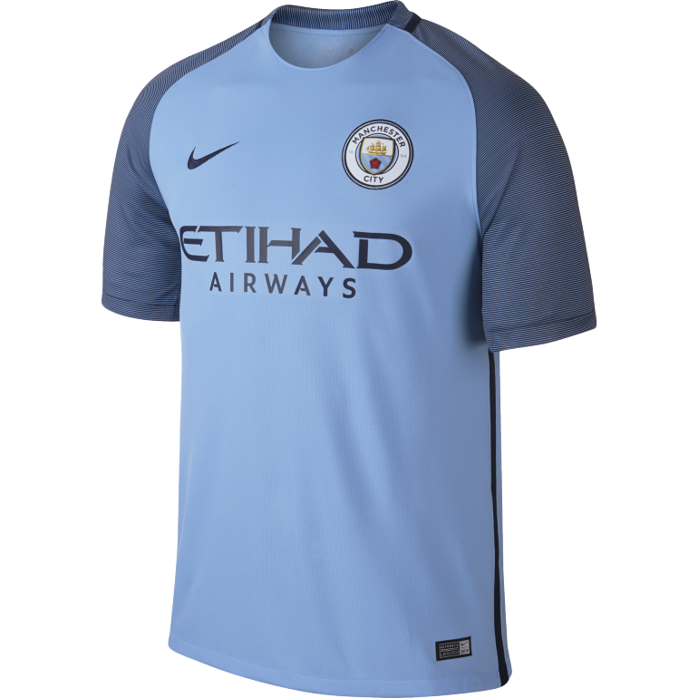 Maillot Manchester City domicile 2016 - 2017