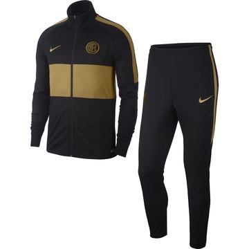 Ensemble survêtement Inter Milan noir or 2019/20
