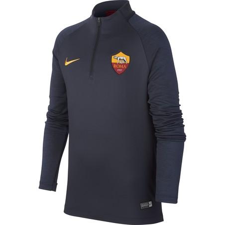 Sweat zippé junior AS Roma bleu 2019/20