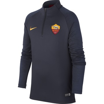 Sweat zippé junior AS Roma bleu 2019/20